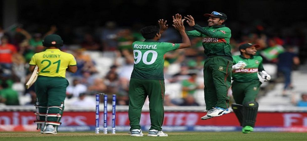 Bangladesh got their ICC Cricket World Cup 2019 campaign off to a great start with a win against South Africa. Get live cricket score and updates here. (Image credit: Twitter)