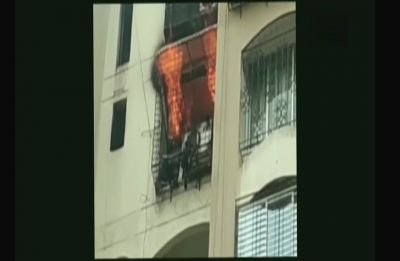 Mumbai: Fire breaks out at Jogeshwari's Minar Tower, fire tenders rushed to spot