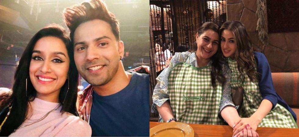 Varun Dhawan, Sara Ali Khan wish fans on Eid.