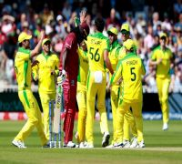 ICC Cricket World Cup 2019: Nathan Coulter-Nile, Mitchell Starc help Australia to tense win vs Windies