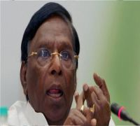 Puducherry CM Narayanasamy slams LG Bedi; Asks Congress workers to prepare for stir