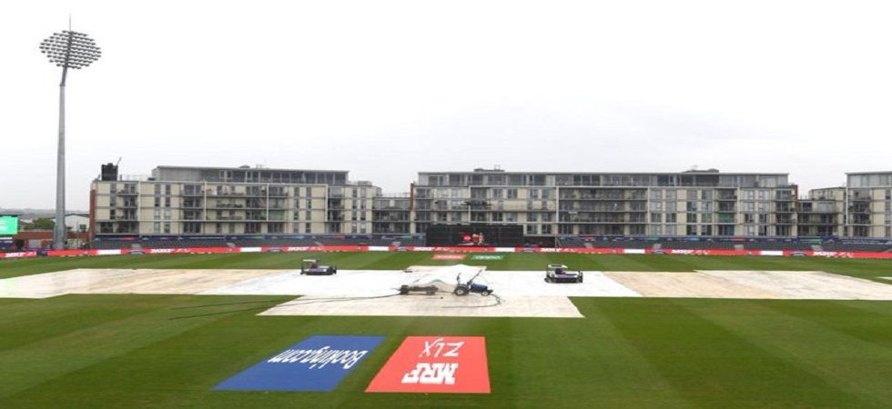 The Pakistan vs Sri Lanka ICC Cricket World Cup clash in Bristol was abandoned due to rain. (Image credit: Cricket World Cup Twitter)