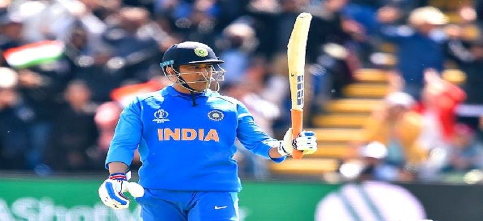 MS Dhoni's Army Insignia has raised some controversy in the ICC Cricket World Cup 2019. (Image credit: Twitter)