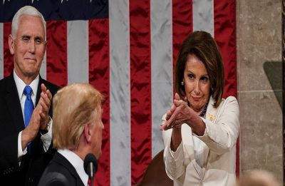 Nancy Pelosi told Democrats she would like Donald Trump 'in prison': Report