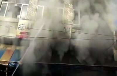 3 killed due to massive fire in Faridabad's private school, rescue operations underway
