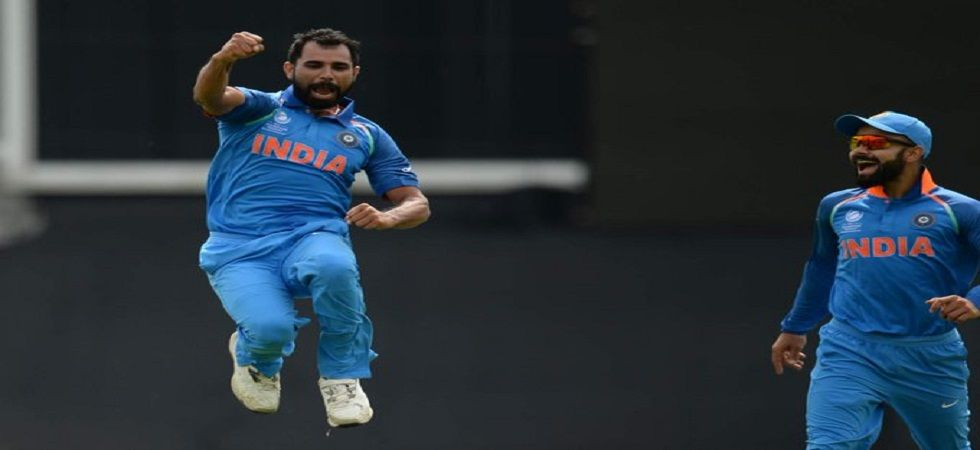 Mohammed Shami could be included in the playing XI for the Australia clash at The Oval. (Image credit: Twitter)