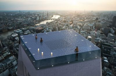 London to get world's first 360-degree 'Infinity Pool' soon
