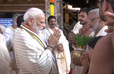 Kerala is as much mine as is Varanasi, says PM Modi in Kerala's Thrissur