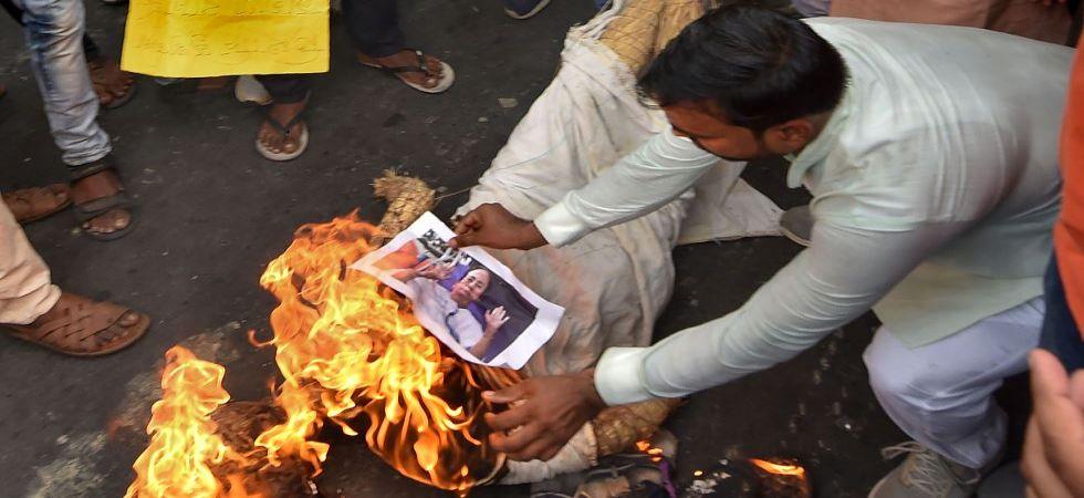 BJP protests in Kolkata (Photo Source: PTI)
