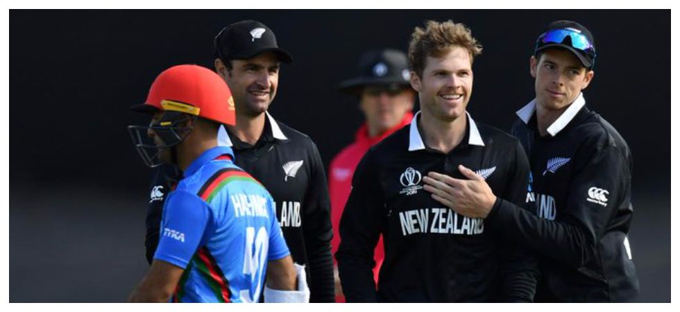 New Zealand registered a seven-wicket win against Afghanistan in the ICC Cricket World Cup clash in Taunton. (Image credit: Twitter)