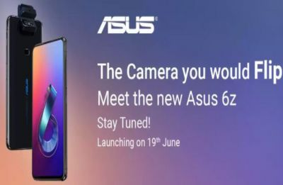 Asus ZenFone 6 set to launch as Asus 6Z in India on June 19, confirms company
