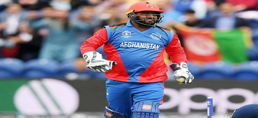 Mohammad Shahzad was ruled out of the ICC Cricket World Cup 2019 for Afghanistan due to a knee injury. (Image credit: Twitter)