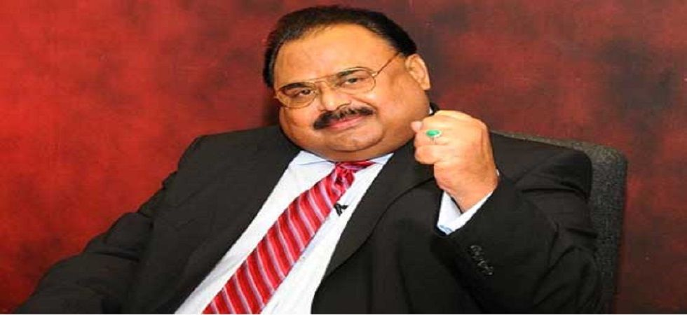 Altaf Hussain, the exiled leader of Muttahida Qaumi Movement (MQM).