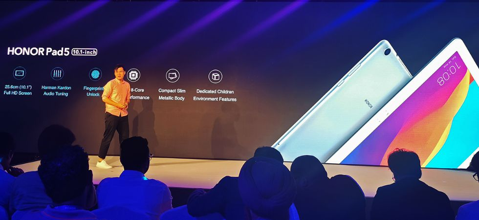 Honor Pad 5 launch (Photo Credit: Twitter)