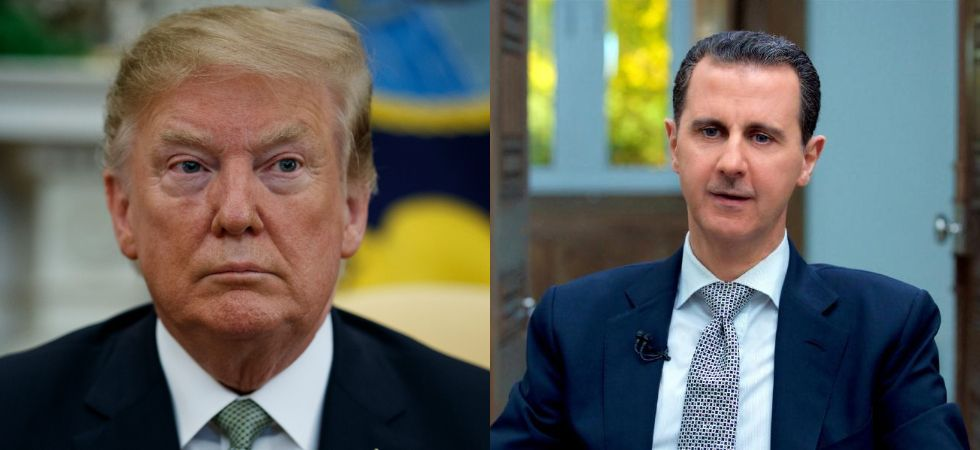 Trump vs Bashar (Photo Credit: Twitter)