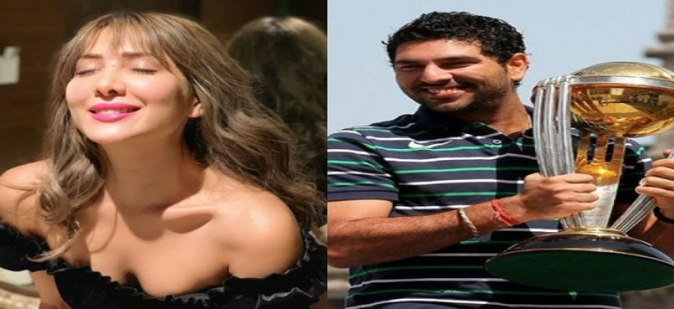 May your next phase be as smashing with Hazel: Kim Sharma on Yuvraj' s retirement