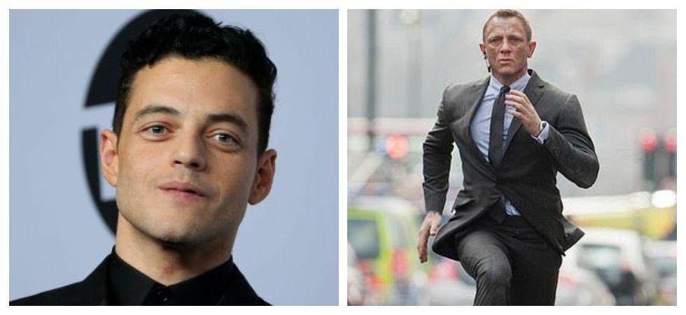 Daniel Craig, Rami Malek struggling to film together for Bond 25 (Photo: Twitter)