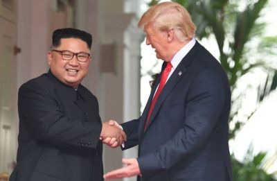 Trump says he received a 'beautiful letter' from North Korea's Kim