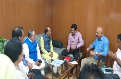 BJP stages protest over water, power supply; holds Delhi Jal Board CEO 'captive' in office