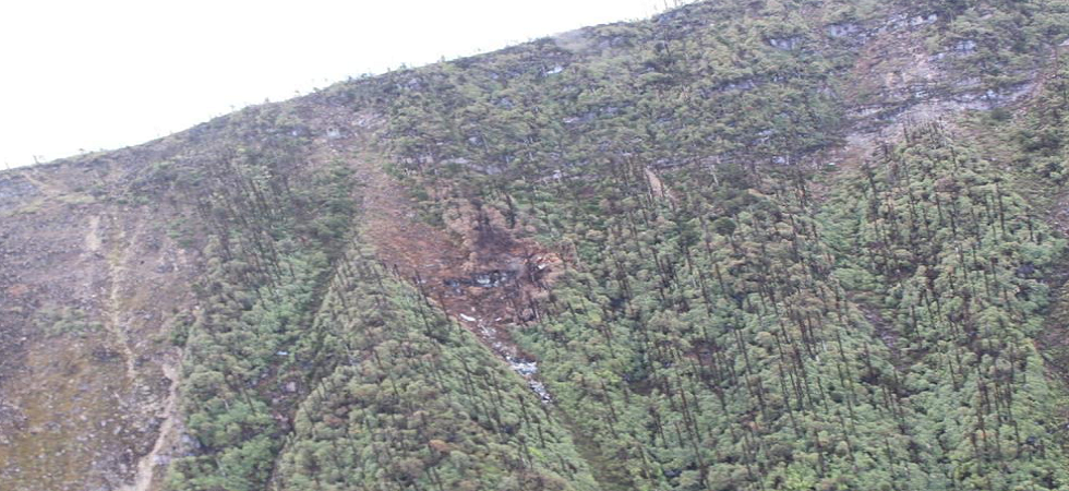 New image of IAF's AN-32 crash site shows how close aircraft was to clear hill, but failed