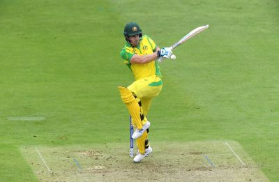 Aaron Finch hits 100th six of ICC Cricket World Cup 2019 in clash vs Pakistan