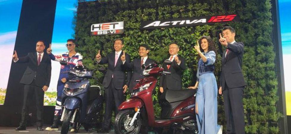 BS6 compliant Honda Activa 125 (Photo Credit: Twitter)