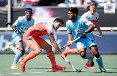 India Under-21 men's hockey team lose to the Netherlands 3-2