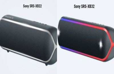 Sony announces two portable speakers  SRS-XB22, SRS-XB32 in India: Prices, specs inside