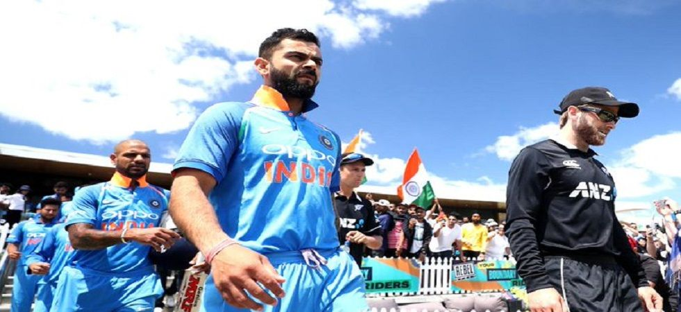 Virat Kohli's Indian cricket team will be aiming to break their losing streak against New Zealand in England. (Image credit: Twitter)