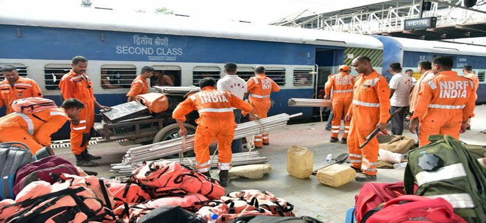 As many as 52 teams of the NDRF have been moved to the state, while 10 columns of the Indian Army have been kept on standby. (IANS photo)