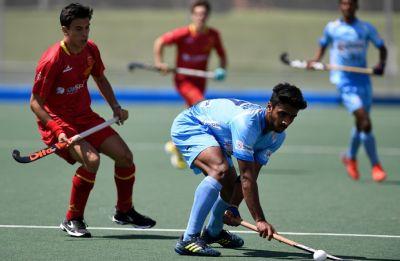 Indian junior men's hockey team lose 1-3 to Spain Madrid