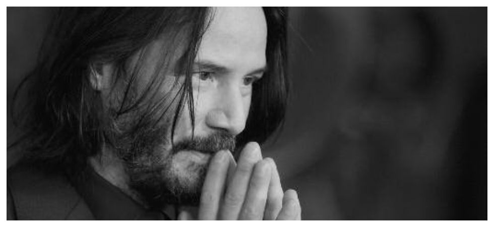 Keanu Reeves doesn't know he's trending on social media (Photo: Twitter)