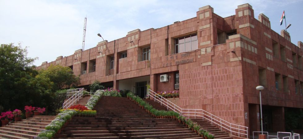 The JNU has introduced online entrance examinations for various courses from this year and the union has been opposing it. (File Photo)