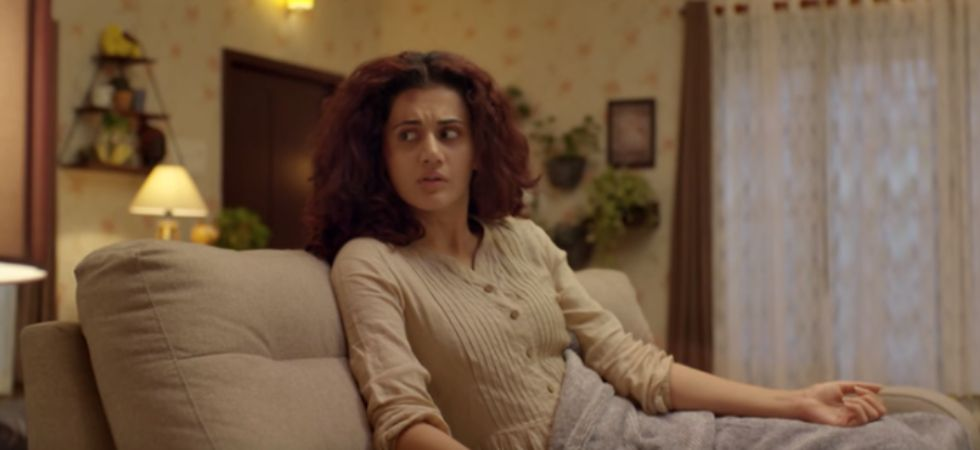 A video game designer, Sapna (Taapsee Pannu) lives alone and is struggling with a mental ailment. (Game Over/ Official Trailer)