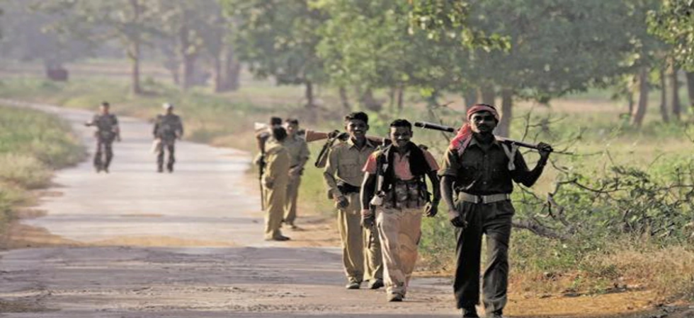 Encounter between Maoists and security forces (File Photo)