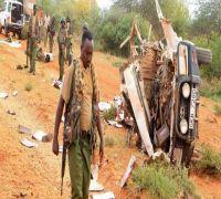 Landmine blast kills 8 Kenyan police near Somali border