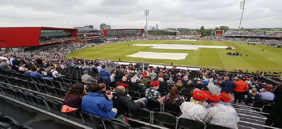 Manchester is expected to be lashed with rain on Sunday and it could impact the India vs Pakistan marquee clash in the ICC Cricket World Cup 2019. (Image credit: Twitter)