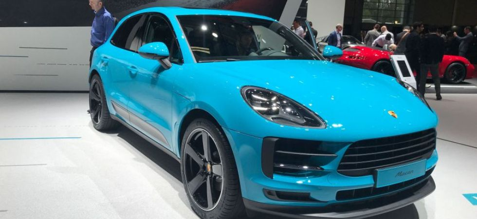 Porsche Macan Facelift (Photo Credit: Twitter)