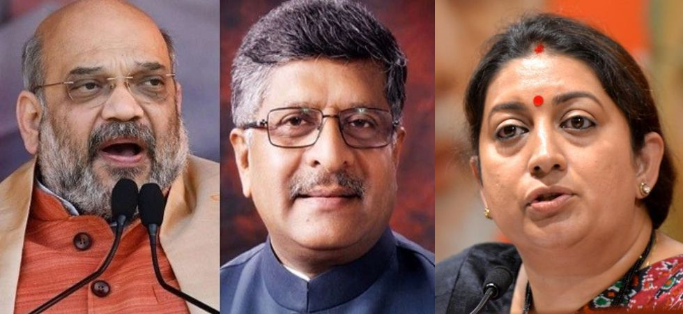 Bye-Elections on Rajya Sabha seats of Amit Shah, Smriti Irani, RS Prasad  (Photo Credit: Twitter)