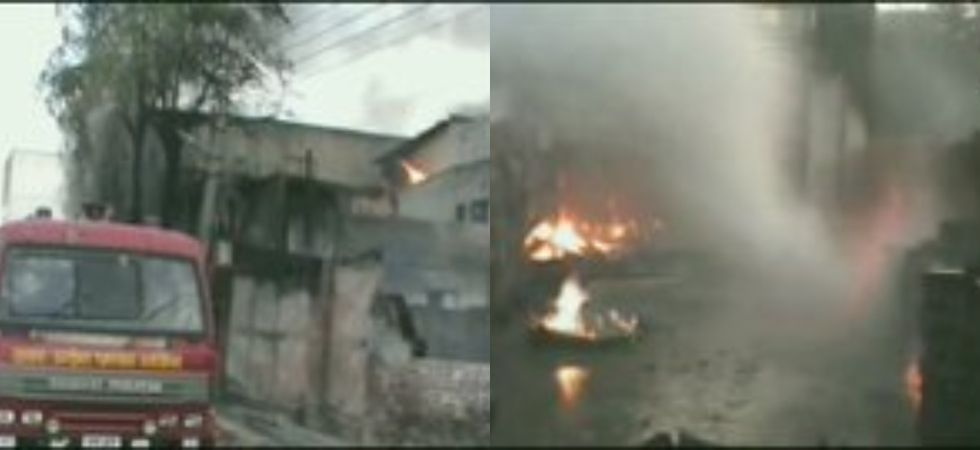 Fire broke out in pesticide factory in Meerut's Mohkampur industrial area
