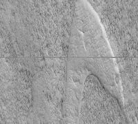 NASA spacecraft spots Star Trek logo on Mars