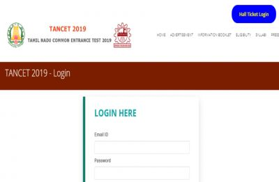 TANCET 2019 Hall Ticket released on tancet.annauniv.edu, here's how to download