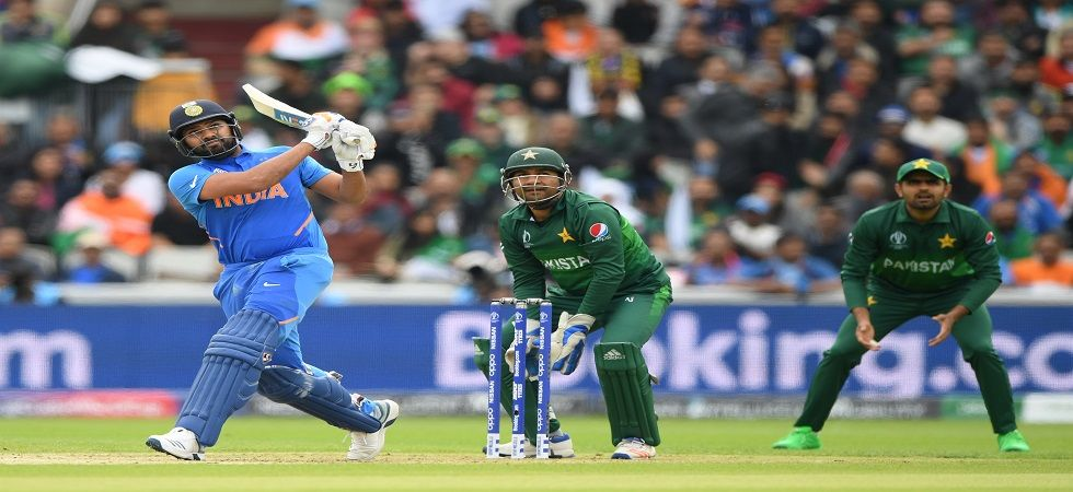 Rohit Sharma and KL Rahul became the first Indian opening partnership to stitch a stand of over 100 in World Cups against Pakistan. (Image credit: Getty Images)