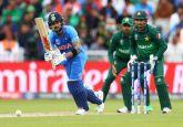 Live Cricket Score Updates, India vs Pakistan, ICC World Cup 2019: Rain Stops Play, India cross 300