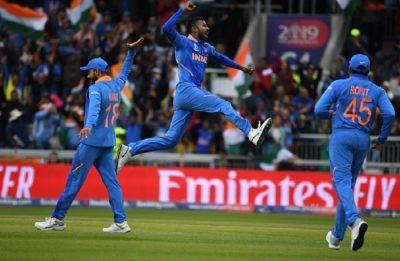 India vs Pakistan, ICC World Cup 2019: India make it 7-0 vs Pakistan, register 89 run win via DLS method