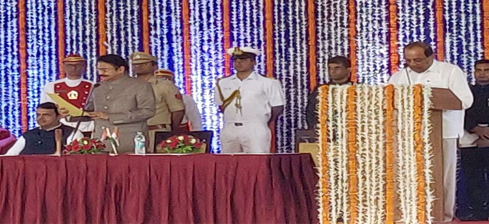 Former Congress leader Radhakrishna Vikhe Patil was among the new ministers who took oath today.