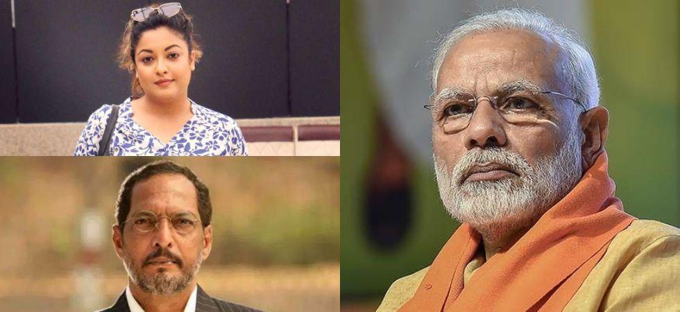 Tanushree Dutta vs Nana Patekar (Photo Credit: Twitter)