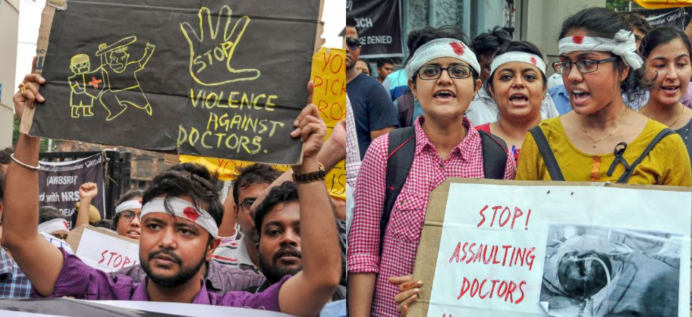 The chief minister said the state government had accepted all the demands of the agitating doctors and was ready to accept more. (Photos: PTI)