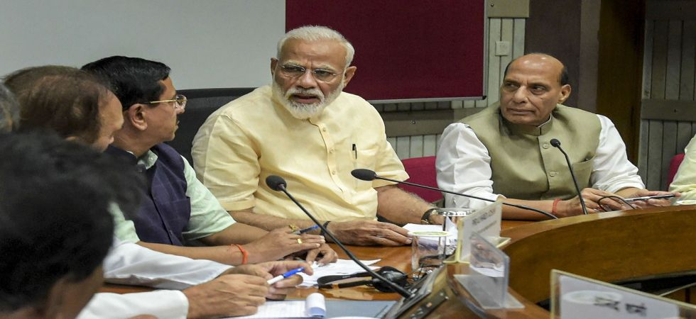 PM Modi chairs all-party meeting (Photo Source: PTI)