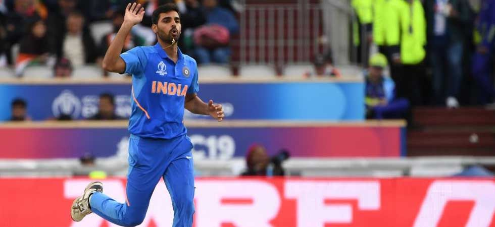 Bhuvneshwar Kumar slipped on the footmarks and will be out for the maximum of next three games. 